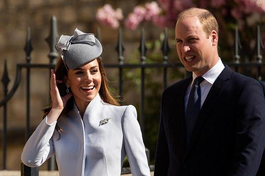 Kate a William slaví výročí svatby.