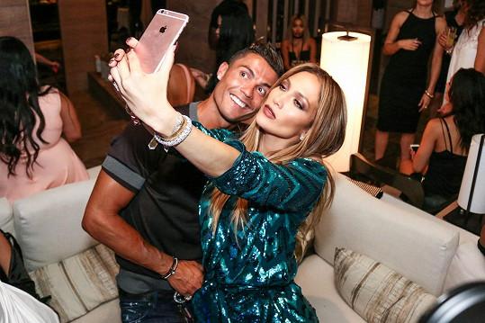 Do Las Vegas si odskočil na oslavu Jennifer Lopez.