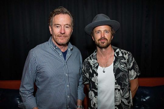 S Aaronem Paulem byli jako Walt a Jesse nepřekonatelní.