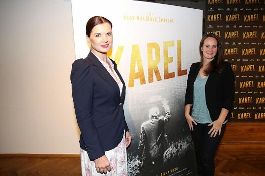 S dokumentaristkou Olgou Malířovou Špátovou, která film točila.