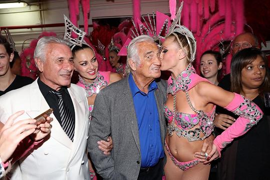Jean-Paul Belmondo se dočkal i polibku.