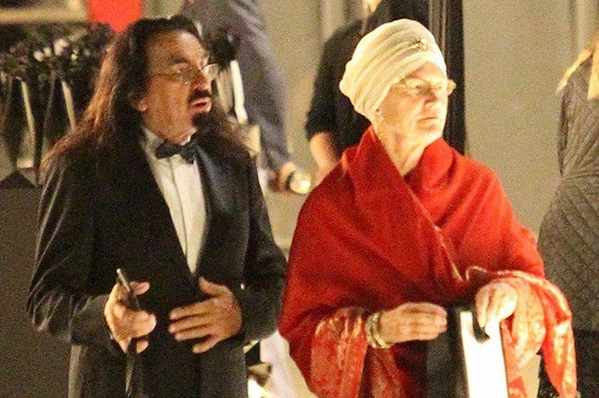 George DiCaprio s manželkou Peggy