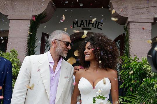 Pohádková svatba proběhla v srpnu loňského roku.