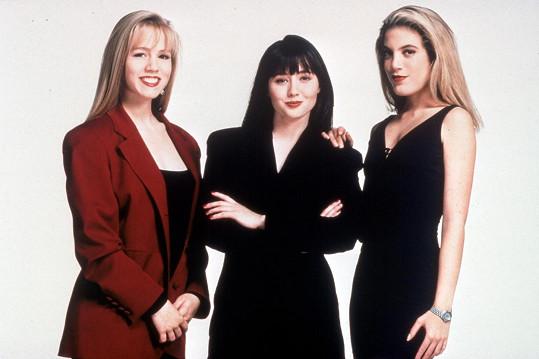 Kamarádky z Beverly Hills 90210 - Jennie Garth, Shannen Doherty a Tori Spelling