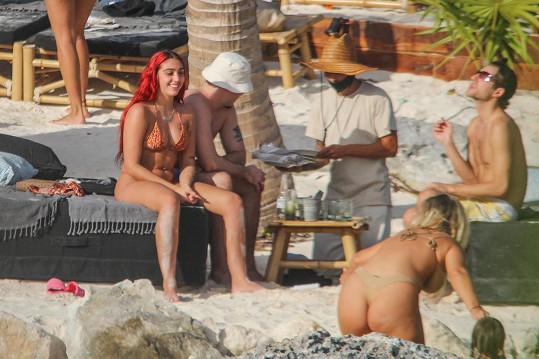 Lourdes Leon si užívá dovolenou v Mexiku.
