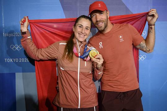 Belinda Bencicová a Martin Hromkovič tvoří partnerský i profesní pár.
