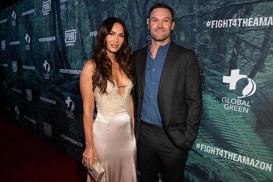 Rozchod s Megan Fox seriálový David oznámil v květnu.