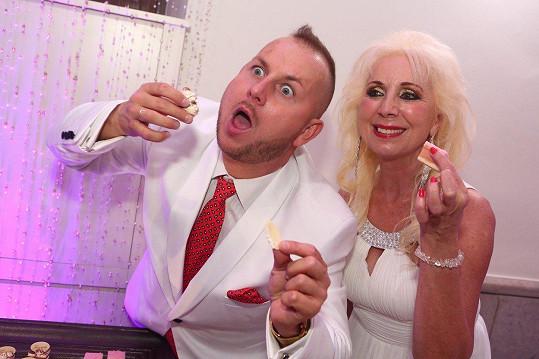 Božanka a Martin měli svatbu v Bělehradě.