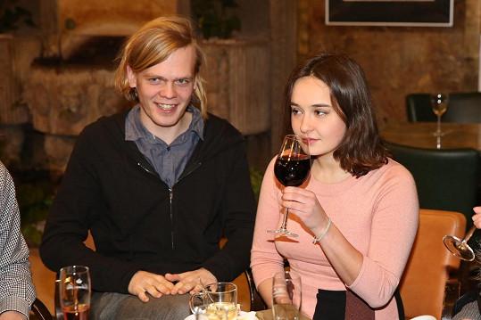 Josefína Rašilovová si vzala přítele Alexandra.