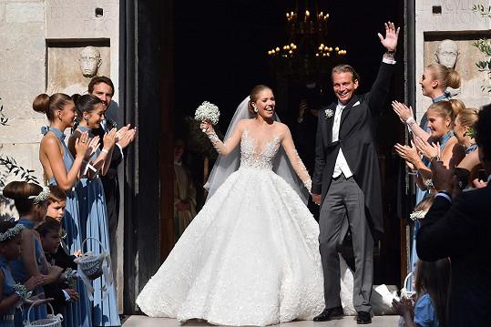 Victoria a Werner vstoupili podruhé do manželství.