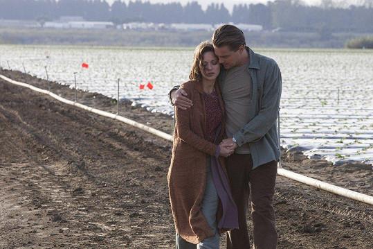 Lásku Leonarda DiCapria ztvárnila v Počátku (2010)