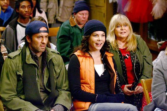 Scott Patterson a Lauren Graham jako Luke a Lorelai