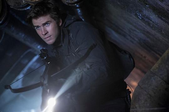 Liam Hemsworth je součástí sci-fi ságy Hunger Games.