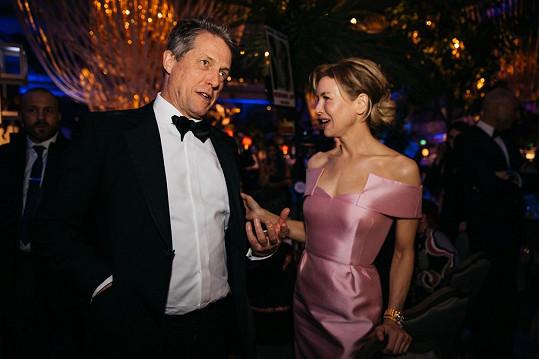 Renée a Hugh se potkali v únoru na udílení Cen filmové Britské akademie.