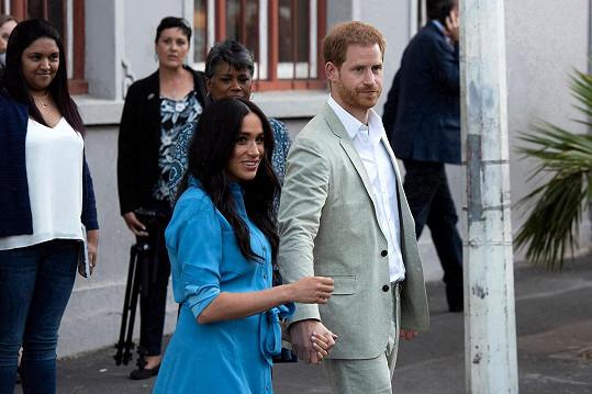 Vévoda a vévodkyně si v něm servítky nebrali.