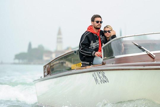 Scott Disick (34) se svojí mladičkou přítelkyní, dcerou slavného amerického zpěváka Lionela Richieho (68) Sofií (19).