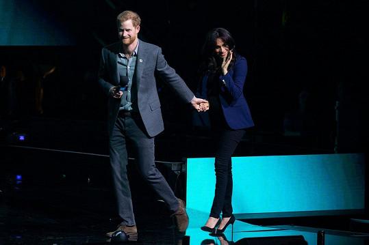 Harry a Meghan zpestřili akci WE Day.