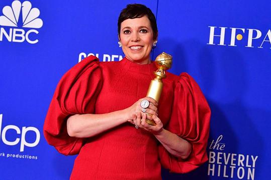 V její kategorii Jennifer porazila Olivia Colman za výkon v seriálu Koruna.