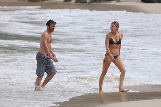 Patrick Dempsey musí být na svou krásnou manželku hrdý.