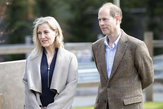 Princ Edward s manželkou Sophií si zažertovali na konto slavného rozhovoru Harryho a Meghan s Oprah Winfrey.