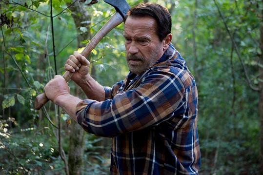 Arnold Schwarzenegger ztvárnil tátu bojujícího se zombie ve filmu Maggie prý zadarmo.