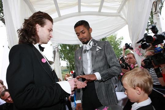Yemi si vzal partnera Jaromíra 24. 7. 2010.