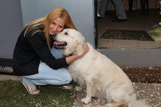 Ivana Gottová s milovanou Stellou