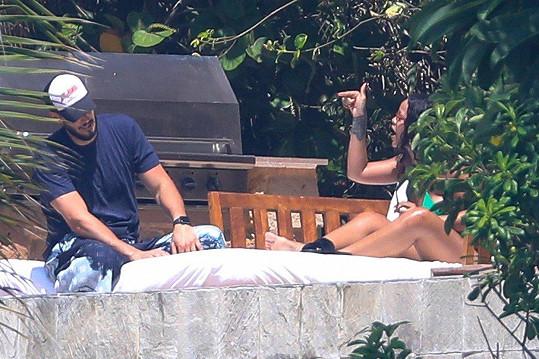 V létě byl pár zachycen při hádce během dovolené v Mexiku.