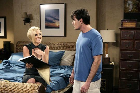 V seriálu Dva a půl chlapa sváděla bouřliváka Charlieho.