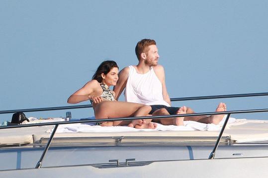 Calvin Harris a Aarika Wolf spolu strávili dovolenou v Mexiku.