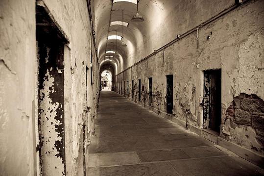 Návštěvníci slýchávají duchy bývalých vězňů.
