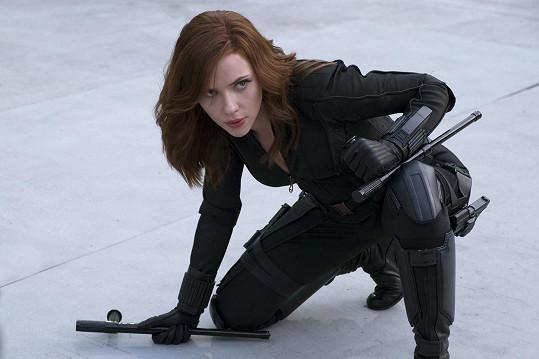 Scarlett Johansson přepsala historii.