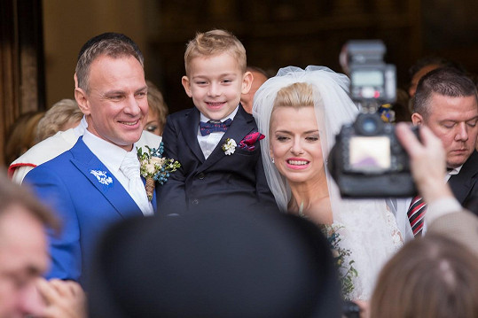 Zlatica a Patrik spolu mají pětiletého syna Leonarda.