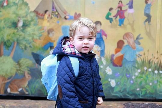Princ George v roce 2016