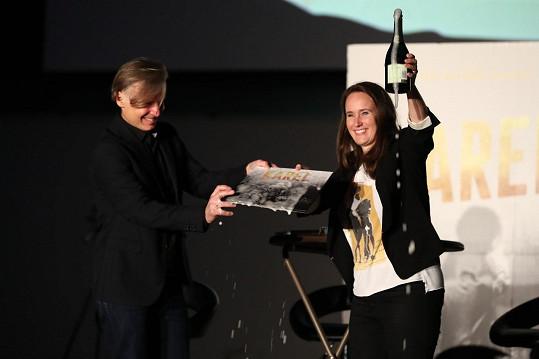 Olga Špátová byla ráda, že diváci v Plzni ocenili v dokumentu Gottův humor.