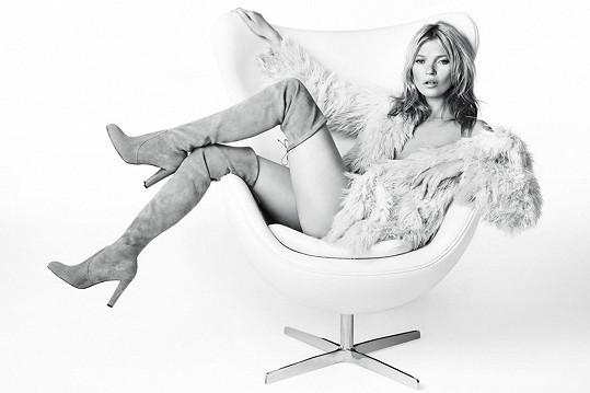 Před Gisele byla její tváří Kate Moss.