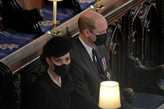 Rozloučení s vévodou z Edinburghu bylo pro všechny náročné.