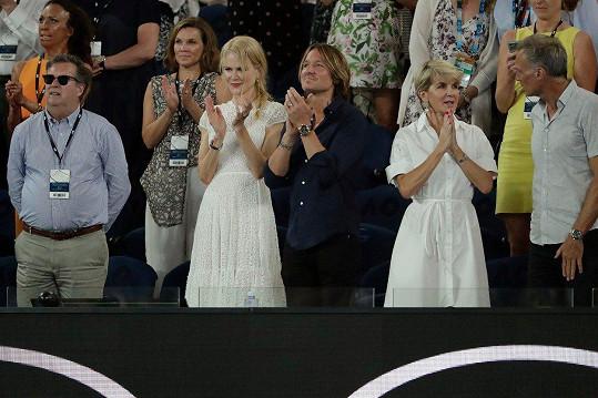 Potlesk pro českou tenistku