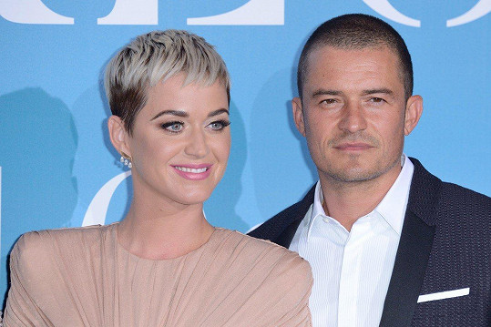 Orlando a Katy se objevili společně na akci po dvou letech.