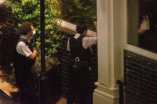 Na místo byli přivoláni policisté.