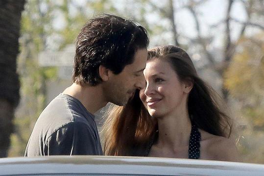 Adrien Brody a Lara Lieto tvoří pár už skoro pět let.