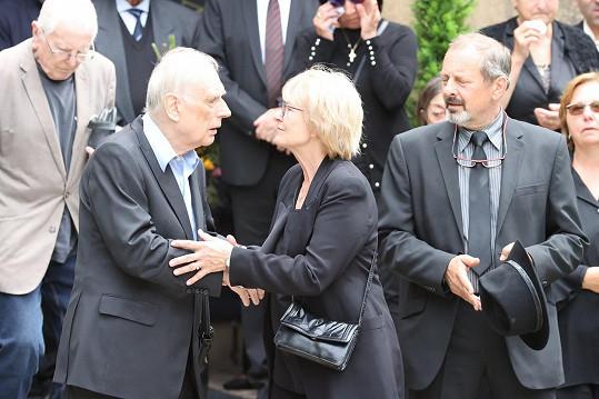 Ladislav Županič s Jaroslavou Brouskovou