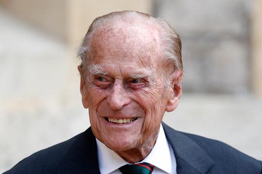 Princ Philip zemřel 9. dubna ve věku 99 let.