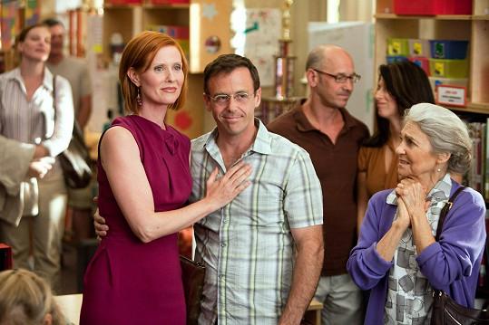 Se Cynthií Nixon jako Steve a Miranda