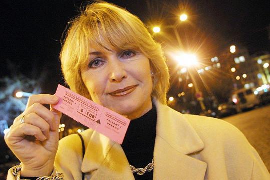 Takhle herečka vypadala v roce 2002.