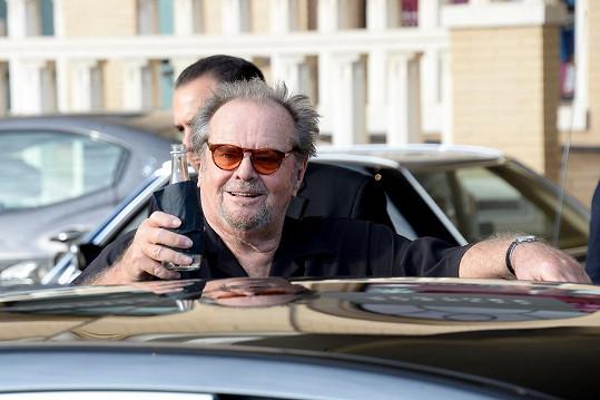 Jack Nicholson v New Yorku