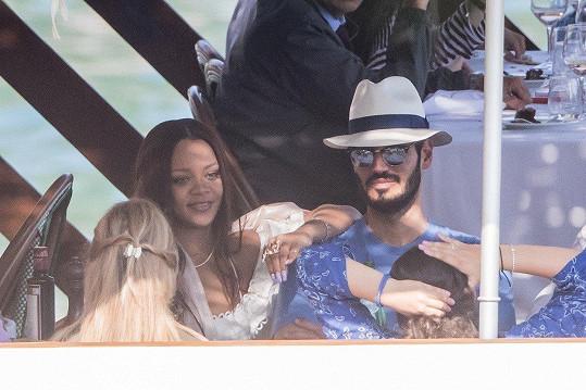 Rihanna a její přítel Hassan