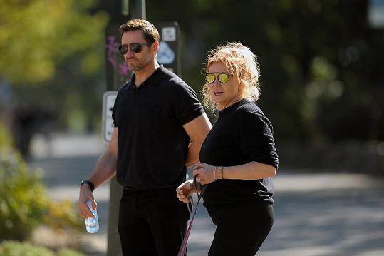 Hugh Jackman s manželkou
