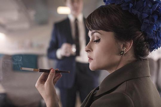 Helena v seriálu The Crown ztvárnila zesnulou princeznu Margaret.
