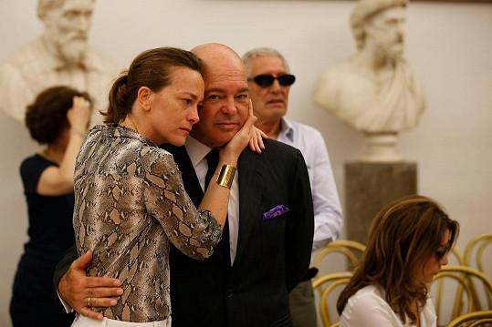 Spencerova dcera Diamy a syn Giuseppe